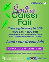 Top 5 Tips for Making the Most of the Spring Career Fair