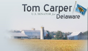 Photo courtesy of www.carper.senate.gov